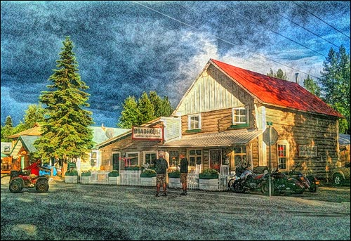 Fourth of July in Talkeetna Alaska