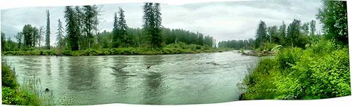 Talkeetna River, high water